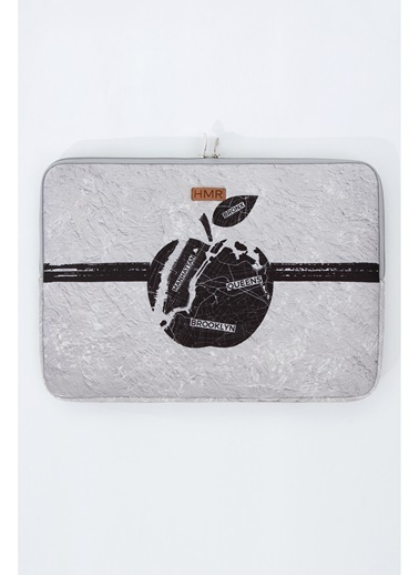 Hamur Easy Case 13 inç Laptop Çantası Notebook Kılıfı Apple New Gri
